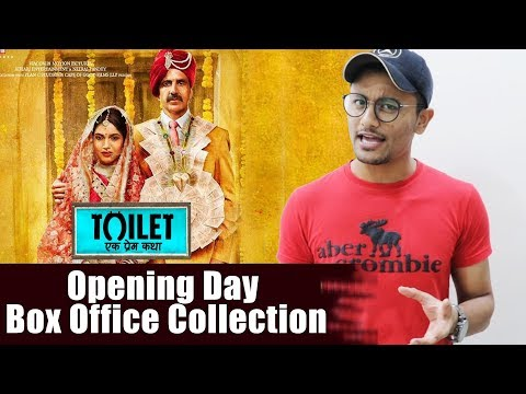 Toilet Ek Prem Katha OPENING DAY Collection - Box Office Prediction