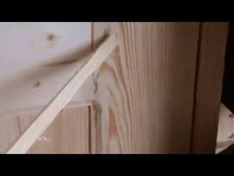 видео: Как сделать деревянную дверь