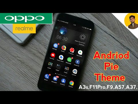 OPPO ANDRIOD Q 10 THEME FOR OPPO A3sF11Pro,F9,A57,A37