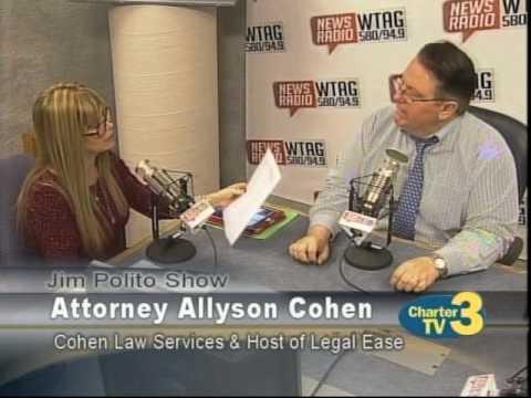 Jim Polito - Attorney Allyson Cohen Segment 11/18/16