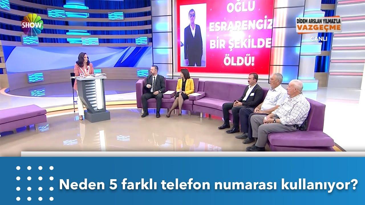 Sami Oruç neden 5 farklı telefon numarası kullanıyor? | Didem Arslan Yılmaz'la Vazgeçme