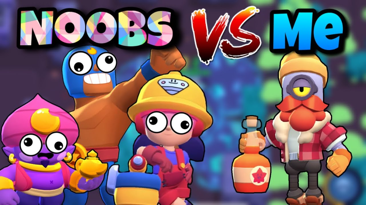 Download Destroying Noobs on my Second Account   Noob VS Pro   The Worst Brawl Stars Players