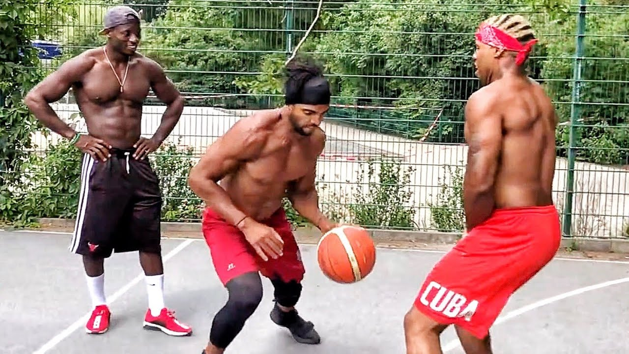 Kings of Africa basketball court workout