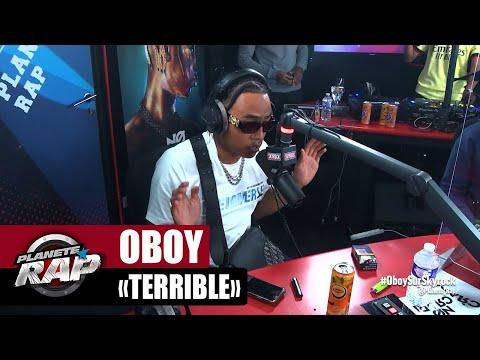 Youtube: [EXCLU] Oboy«Terrible» #PlanèteRap