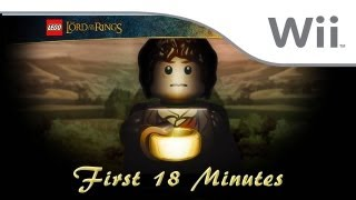 LEGO The Lord of the Rings - First 18 Minutes [Wii]