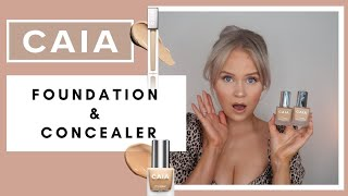 CAIA IT'S ICONIC FOUNDATION & CONCEALER