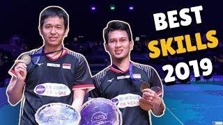 BEST SKILLS MUHAMMAD AHSAN/HENDRA SETIAWAN 2019 MD (INDONESIA)