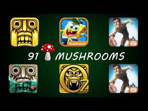 Temple Run Vs SpongeBob Game Station Vs Danger Dash Vs Temple Run 2 Pirate Cove Vs Temple Run Oz
