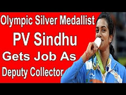 Shocking News - PV Sindhu serves as Deputy Collector..!!?? || Badminton player PV Sindhu