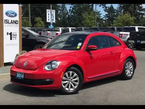 2014 Volkswagen Beetle W/ Moonroof, Heated Seats, Bluetooth Review| Island Ford