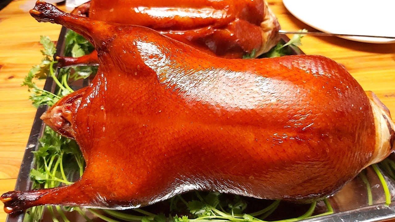 Hướng Dẫn Cách Làm Vịt Quay Bắc Kinh Da Giòn Côm Cốp Vàng Đều Đẹp Từ A Đến Z(beijing roast duck)