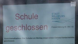 Wilhelmshaven , 9. märz 2020: n sind am montag drei schulen und ein sprachheilzentrum aufgrund eines coronavirus-verdachtsfalles geschlossen we...