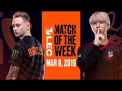 #LEC Match of the Week | Misfits vs Fnatic | Friday 8th