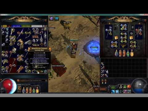 High Intensity Unique Farming in Legacy League - Path of Exi