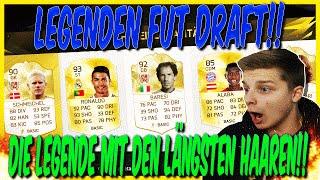 FIFA 16: LEGENDEN FUT DRAFT (DEUTSCH) - ULTIMATE TEAM - DIE LÄNGSTEN HAARE DER WELT!?