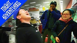 The UGLY SINGING CHALLENGE in Target (GOT KICKED OUT!) - BTS, EXO, BLACKPINK
