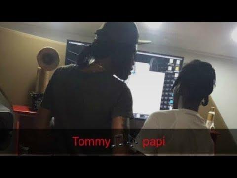 Popcaan & Tommy Lee in Popcaan's Studio Working On Alkaline Diss? [ September 2017 ]