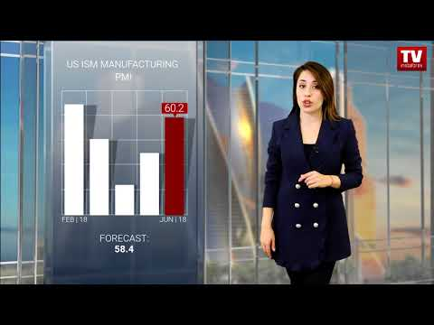 USD rises and stock indices fall ahead of Friday  (03.07.2018)