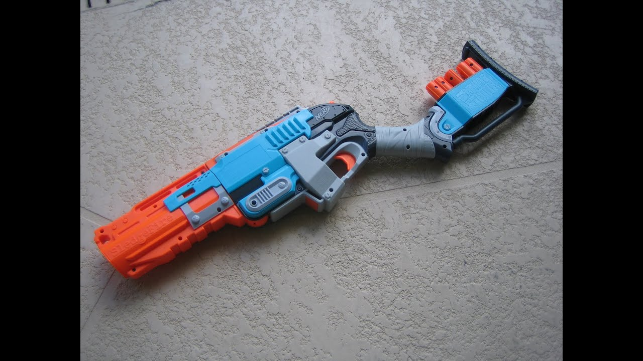 [REVIEW] Nerf Zombie Strike SledgeFire Unboxing, Review, & Firing Test - YouTube