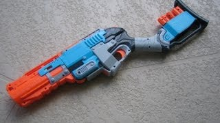 [REVIEW] Nerf Zombie Strike SledgeFire Unboxing, Review, & Firing Test