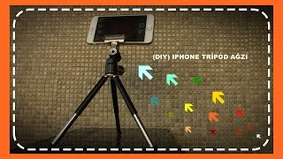 (Dıy)Iphone Tripod Ağzı (Iphone tridod mouth)