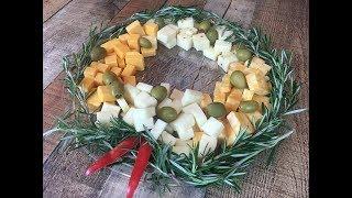 Cheese Platter Wreath