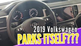 2019 ATLAS Park Assist GIMMICKY??