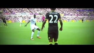 Eden Hazard vs Swansea  2016 - 2017 HD