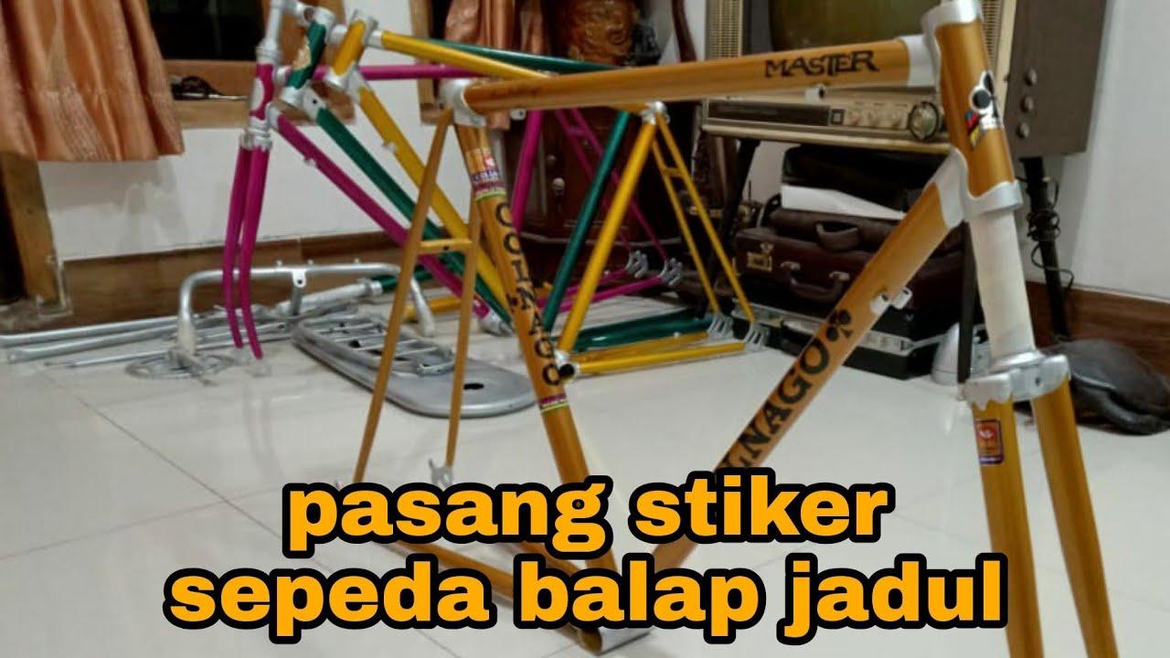 Sepeda Balap Jadul Stiker Asik Sepedabalapjadul Youtube
