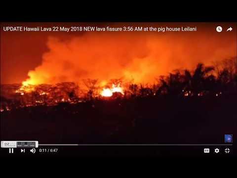 GSM Update 5/23/18 - Kilauea Eruption Intensifies - Merapi Alert Raised - Cosmic Rays & Volcanoes