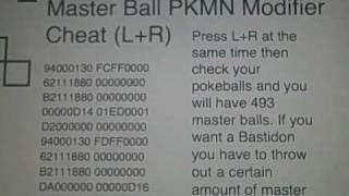 Pokemon Soulsilver Action Replay Codes