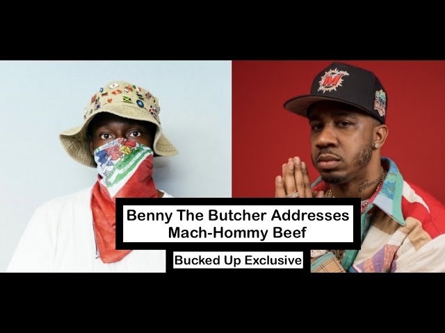 Benny The Butcher Addresses Mach Hommy Beef at Boston Show - Bucked Up Exclusive