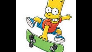 Desenho Bart Simpson Portugues Simpsons Super Divertido Brasil 2016