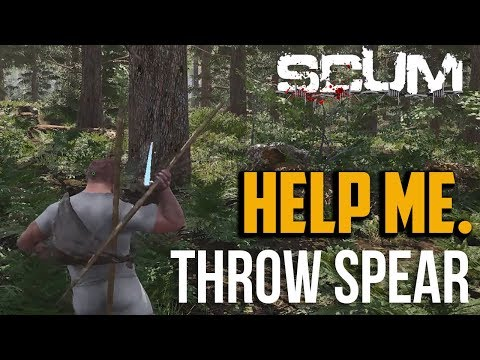 Scum : How to Throw Spear and Other Weapons