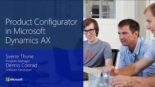 2016 Tech-Konferenz - Produktkonfigurator in Microsoft Dynamics AX