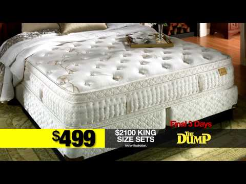The Dump Furniture Outlet Getting Rid of Our Mattress