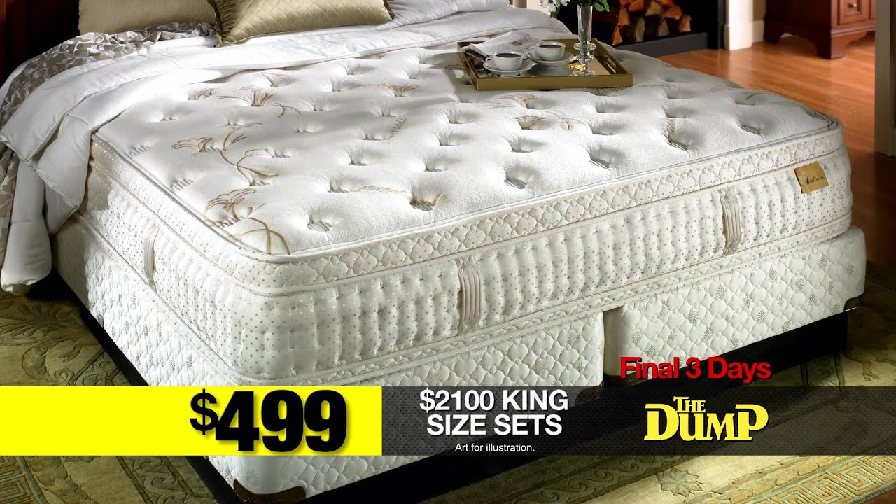 the dump furniture outlet getting rid of our mattress store youtube