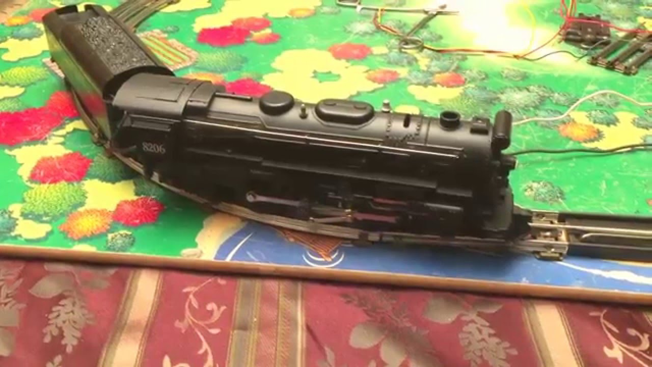 lionel 8206 with mighty sound of steam tender [ 1280 x 720 Pixel ]