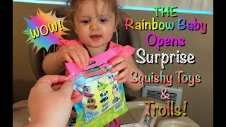 We Open Super Squishy Blind Bag Toy and Trolls Surprise