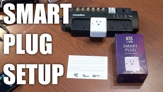 IRIS smart plug working with Samsung Smart Things Hub