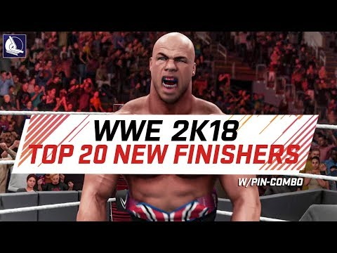WWE 2K18 Top 20 New Finishers w/ Pin-Combo Animations