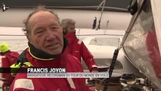 Francis Joyon boucle son tour du monde en 40 jours
