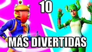 THE FUNNIEST SKINS/FORTNITE SKINS 🔥 TOP 10 🔥 Fortnite Battle Royale ? Nexsgo