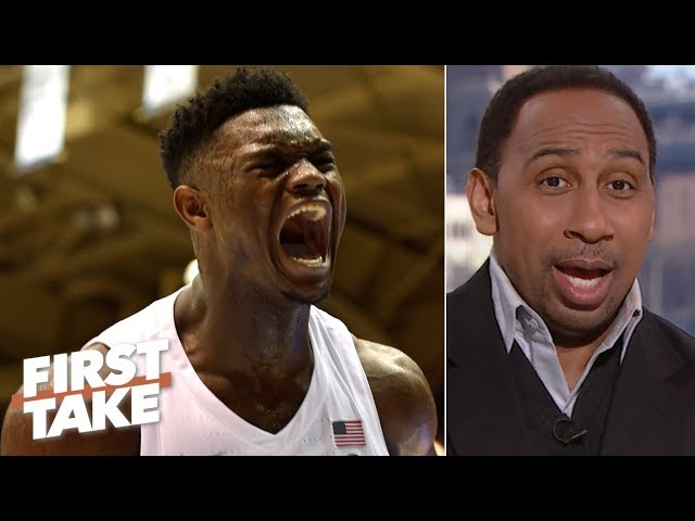 NBA teams should tank for Zion Williamson - Stephen A. Smith | First Take