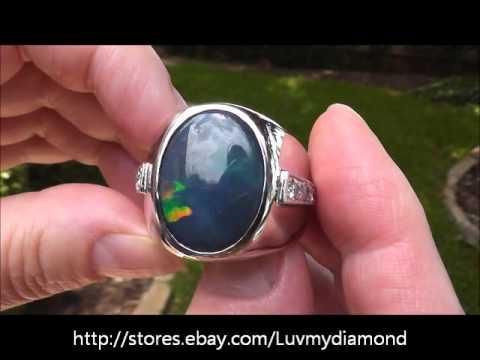 Opal And Diamond Jewelry