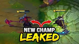 NEW CHAMPION LEAKED! RHAAST and KAYN.. the NEW YASUO? (League of Legends)(