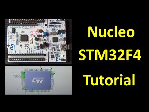 PierAisa #357: Nucleo Board STM32F401-RE Tutorial