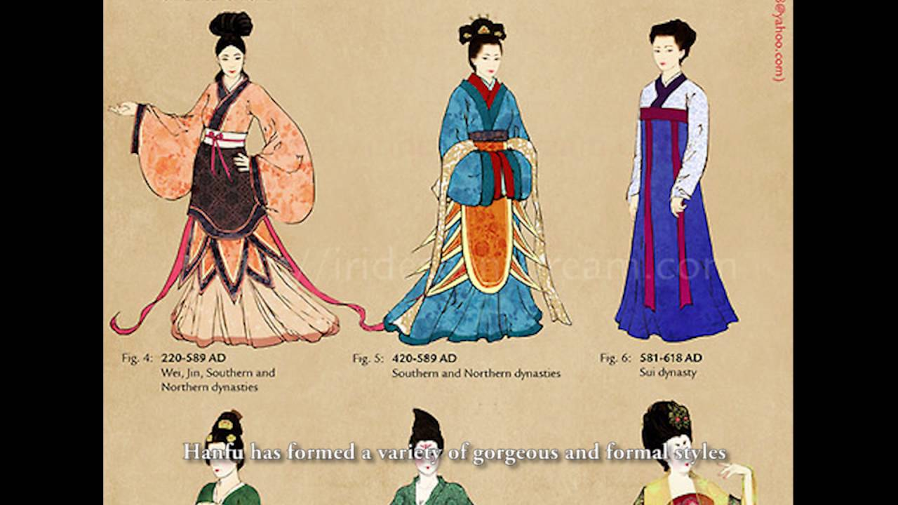 getting to know the chinese traditional clothing hanfu youtube