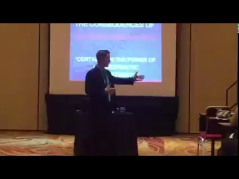 Dr. Dan Sullivan Inspires A Room at Chiro Thought Leaders