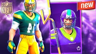 The New NFL SKINS Gameplay in Fortnite! (fortnite FOOTBALL skins)